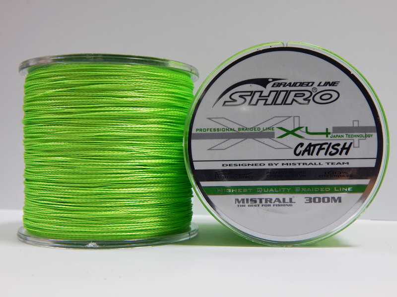 Mistrall Shiro Catfish 0,80 mm / 300 m