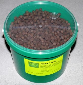 Basic pelety10mm/2kg vedro