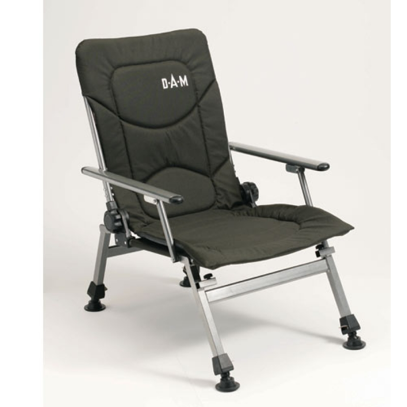 D.A.M. Foldable chair with arm rests stolička