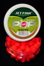 JET FISH Boilies Fluoro POP UP 10 mm PATENTKA