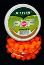 JET FISH Boilies Fluoro POP UP 10 mm BRUSINKA