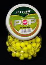 JET FISH Boilies Fluoro POP UP 10 mm ANANÁS-N/BUTYRIC