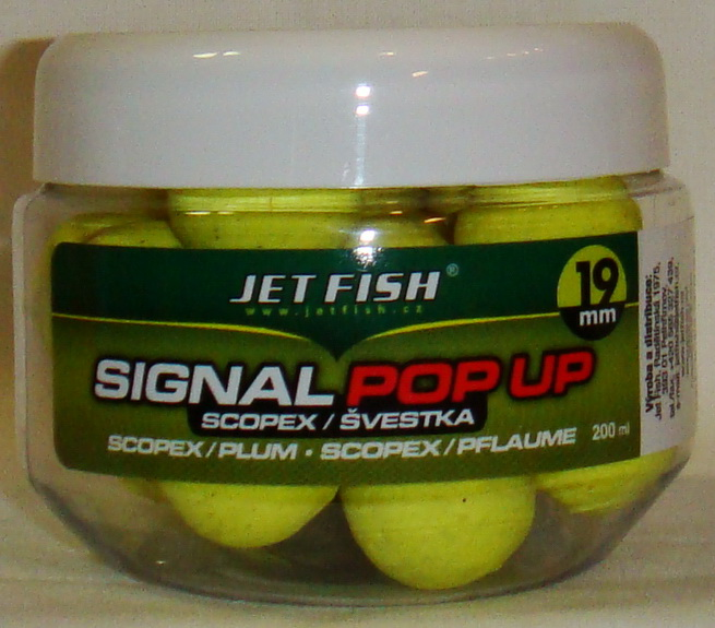 JET FISH Fluoro POP UP SLIVKA/SCOPEX