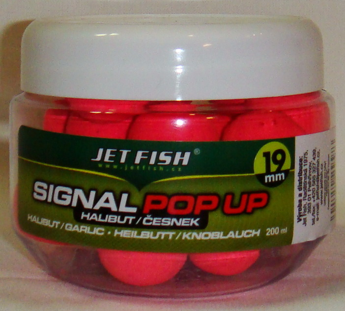 JET FISH Fluoro POP UP JAHODA