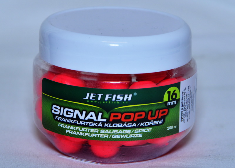 JET FISH Fluoro POP UP BRUSINKA