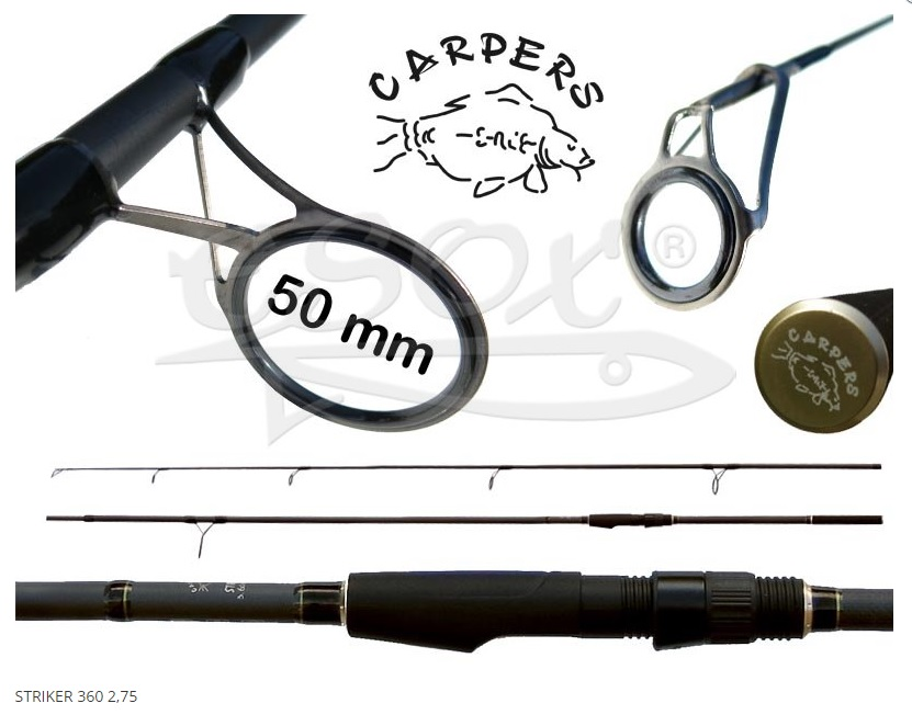 CARPERS Striker 3,6 m / 2,75 lb
