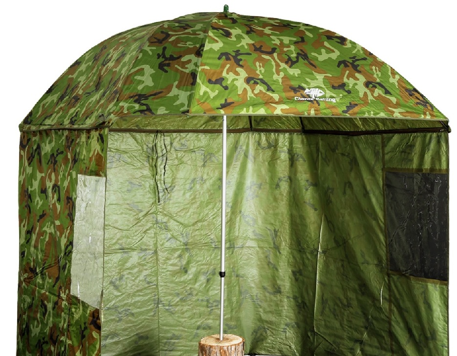 GIANTS FISHING Square Camo Umbrella 250cm