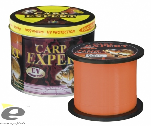 CARP EXPERT UV Fluo Orange 1000 m
