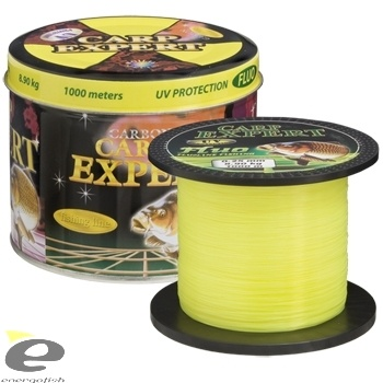 CARP EXPERT UV Fluo Yellow 1000 m
