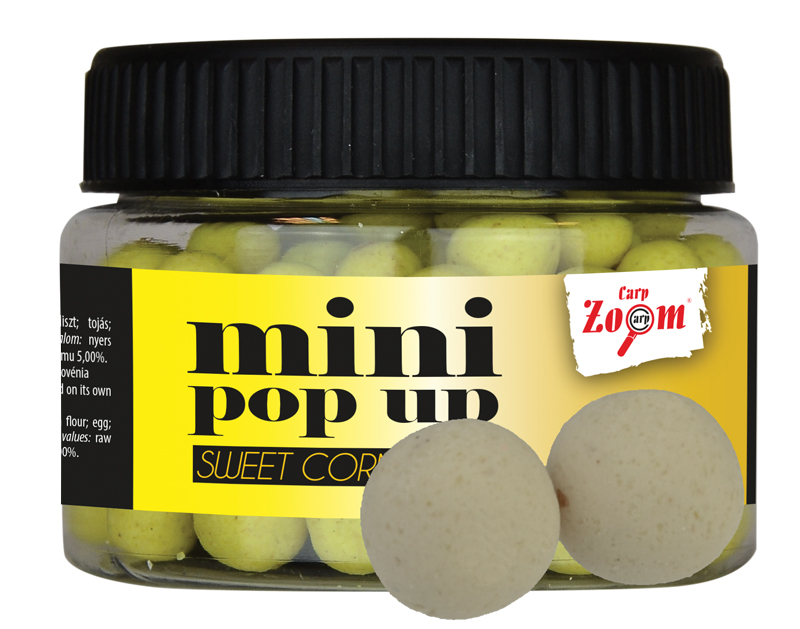 CARP ZOOM Mini boilies POP UP Vanilka 10 mm