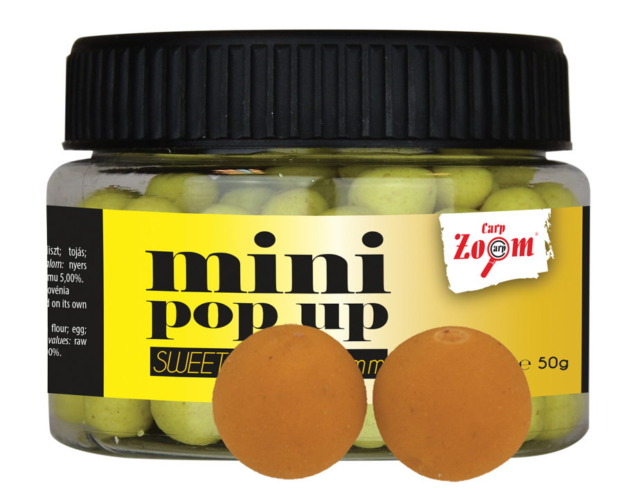 CARP ZOOM Mini boilies POP UP Med 10 mm