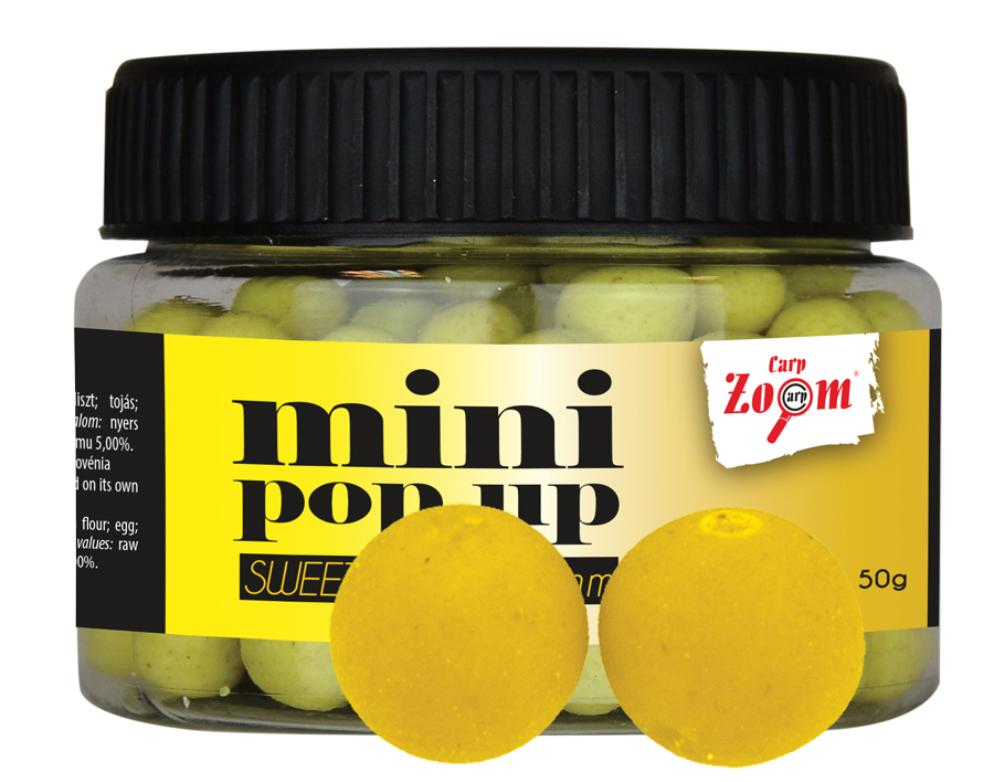 CARP ZOOM Mini boilies POP UP Scopex 10 mm