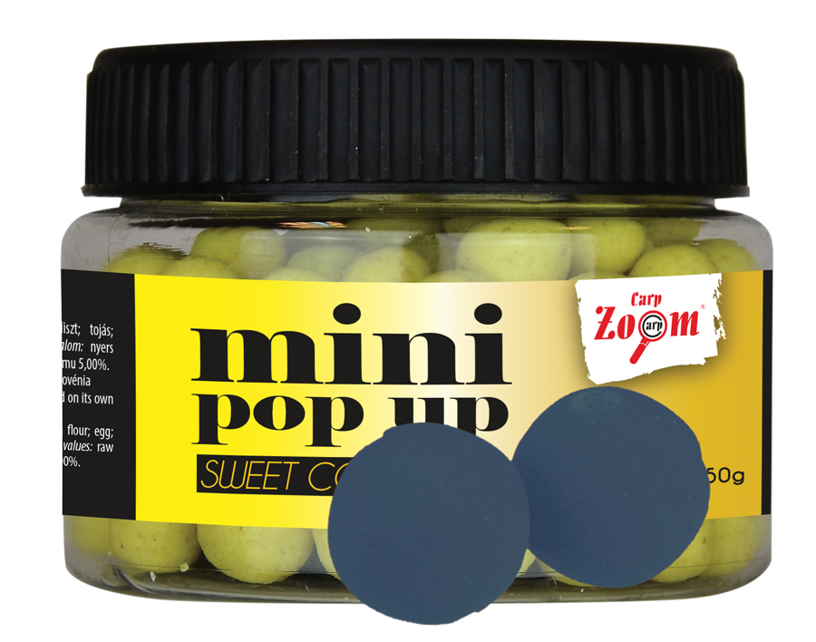 CARP ZOOM Mini boilies POP UP Ryba 10 mm