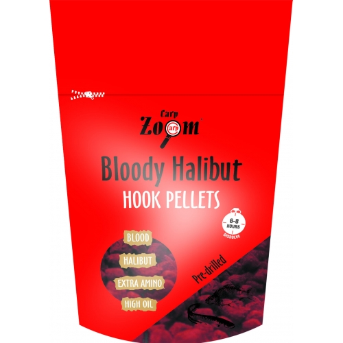 CARP ZOOM Strawberry Halibut Hook Pellets