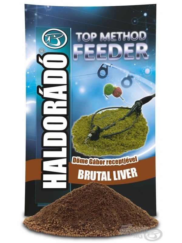HALDORÁDÓ Top Method Feeder Brutal Liver - PEČEŇ