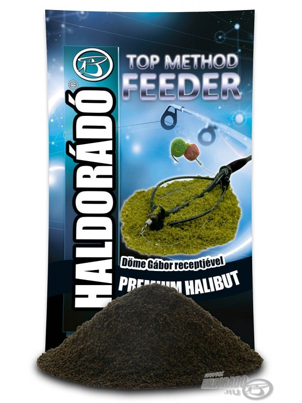 HALDORÁDÓ Top Method Feeder PREMIUM HALIBUT
