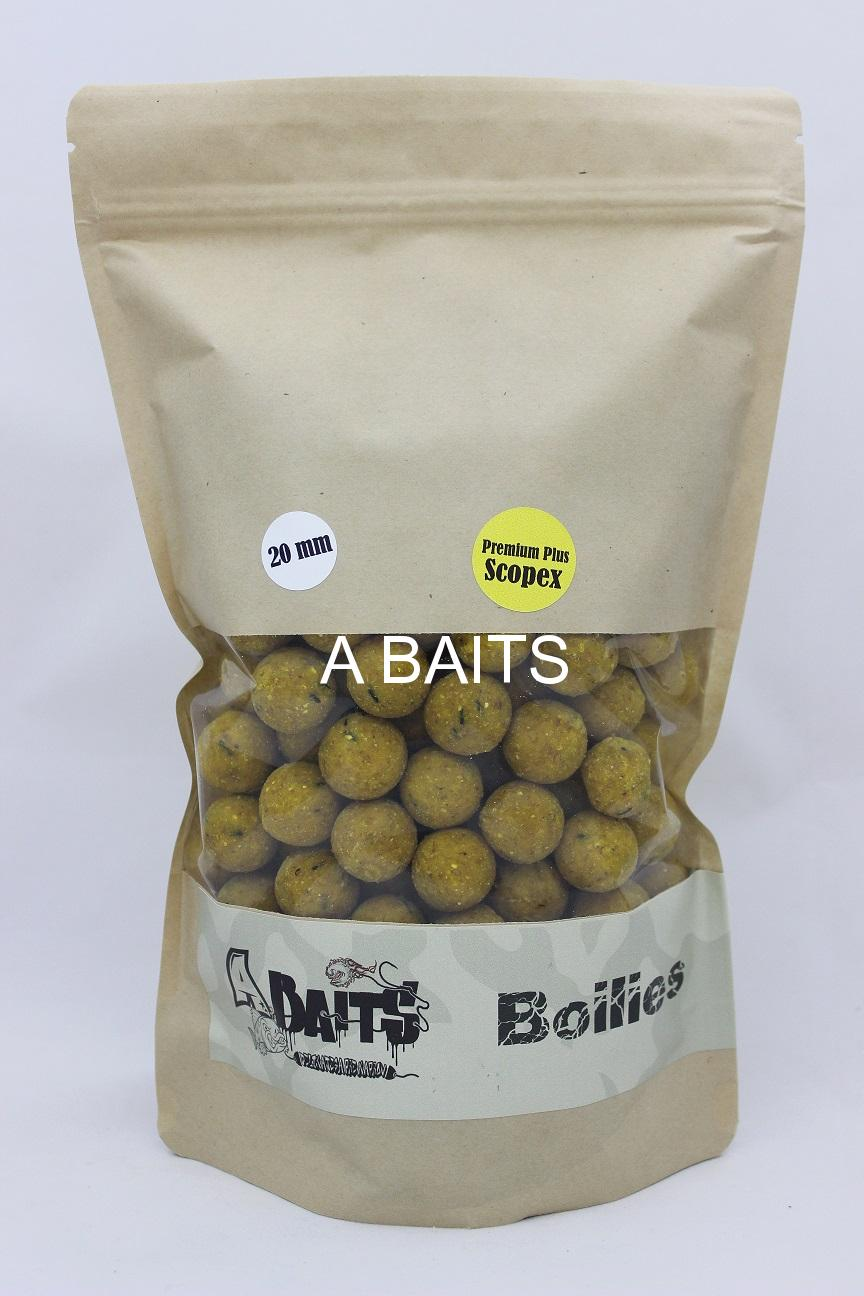 A baits Premium Plus - SCOPEX CREAM 20mm