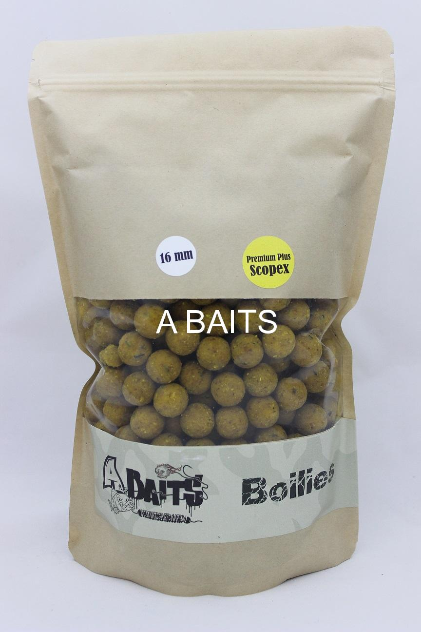 A baits Premium Plus - SCOPEX CREAM 16mm