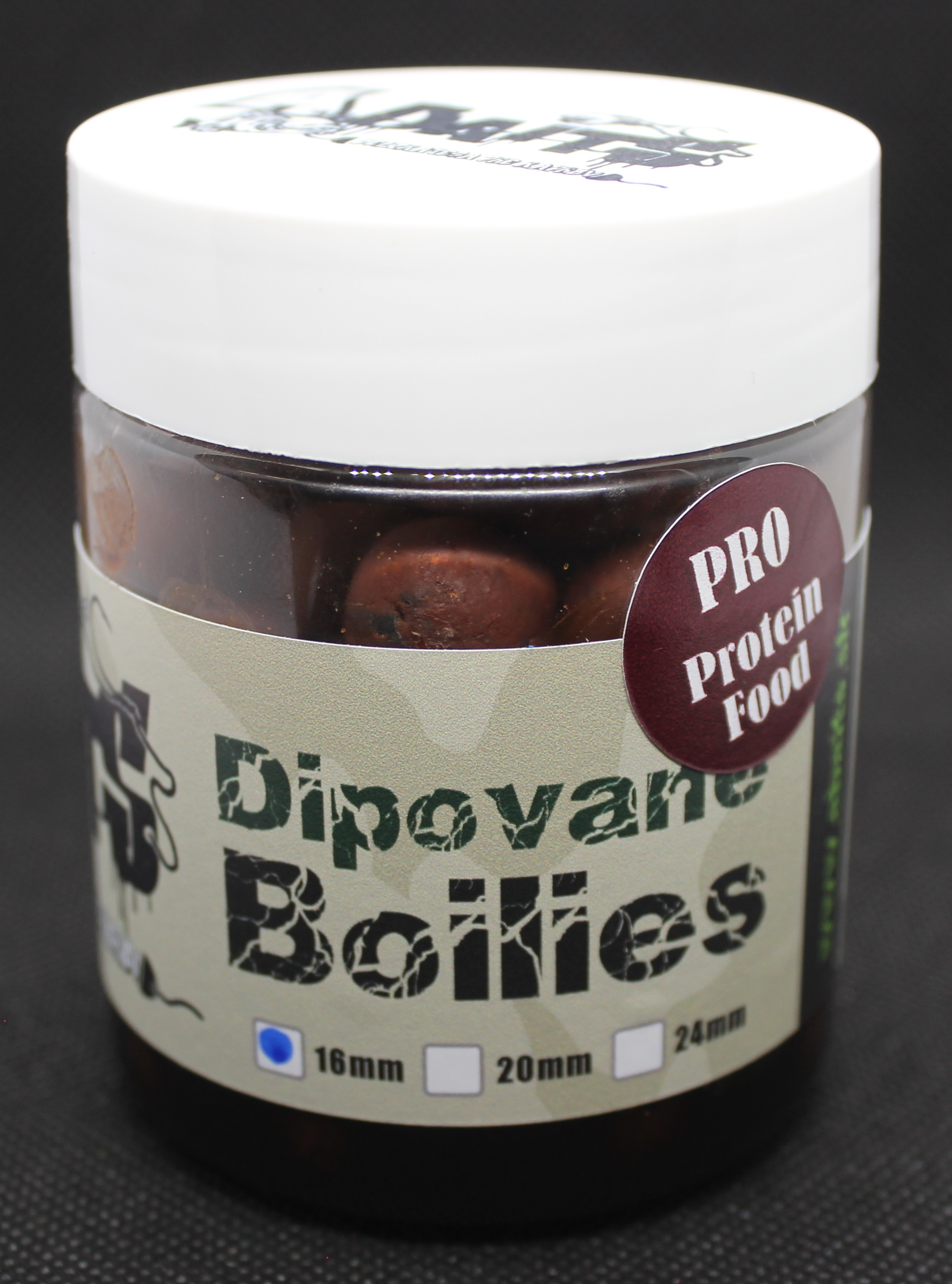 A baits Dipované boilies PROTEIN FOOD 16 mm