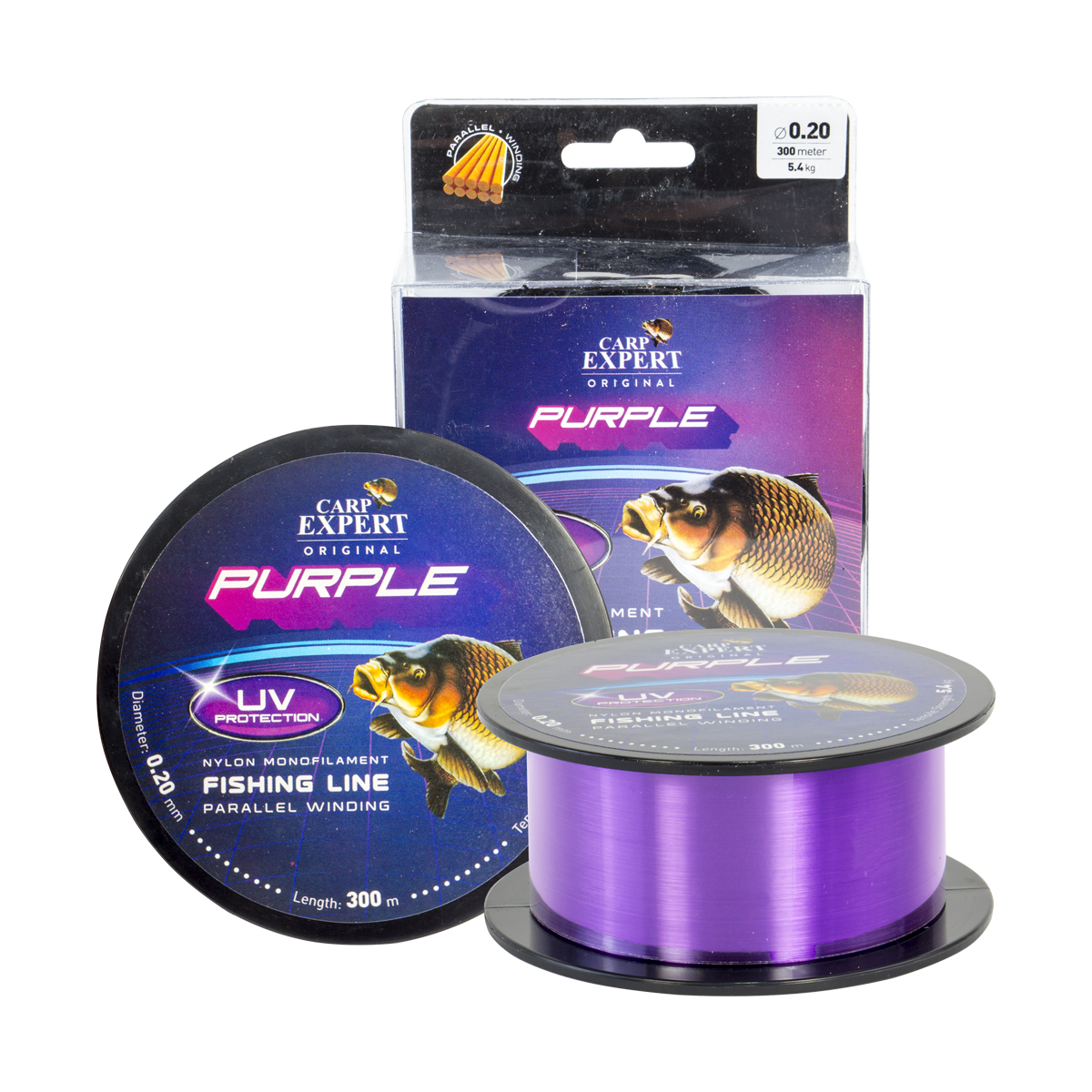 CARP EXPERT UV Purple 1000 m